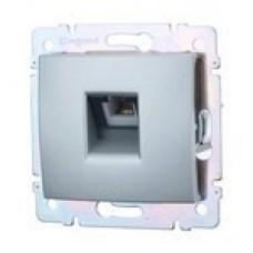 dátová zásuvka Legrand Valena hliník 770232 FTP kat6 hliníková