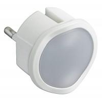 LED nočné svetlo do zásuvky Legrand 050676 biele