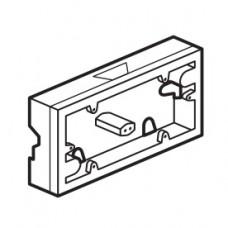 krabica pre povrchovú montáž 2násobná Legrand Valena neutral 776182 biela