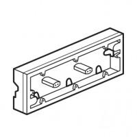krabica pre povrchovú montáž 3násobná Legrand Valena neutral 776183 biela