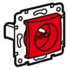 zásuvka červená Legrand Valena 774369