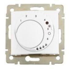 termostat so spínačom na nočný útlm Legrand Valena neutral 774227 biely