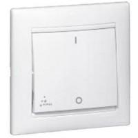 vypínač č.2 IP44 Legrand Valena neutral 770092 biely