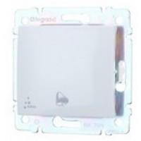 tlačidlo zvonček IP44 Legrand Valena neutral 770099 biele