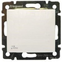 vypínač č.1 IP44 Legrand Valena neutral 774201 biely