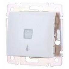 tlačidlo svietidlo Legrand Valena neutral 774413 podsvietene biele
